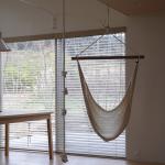 天井からロープを吊るす