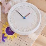 時計の練習とスタンプ