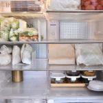 野菜を冷蔵室に