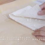 ミツロウラップの補修/大きなサイズの作り方